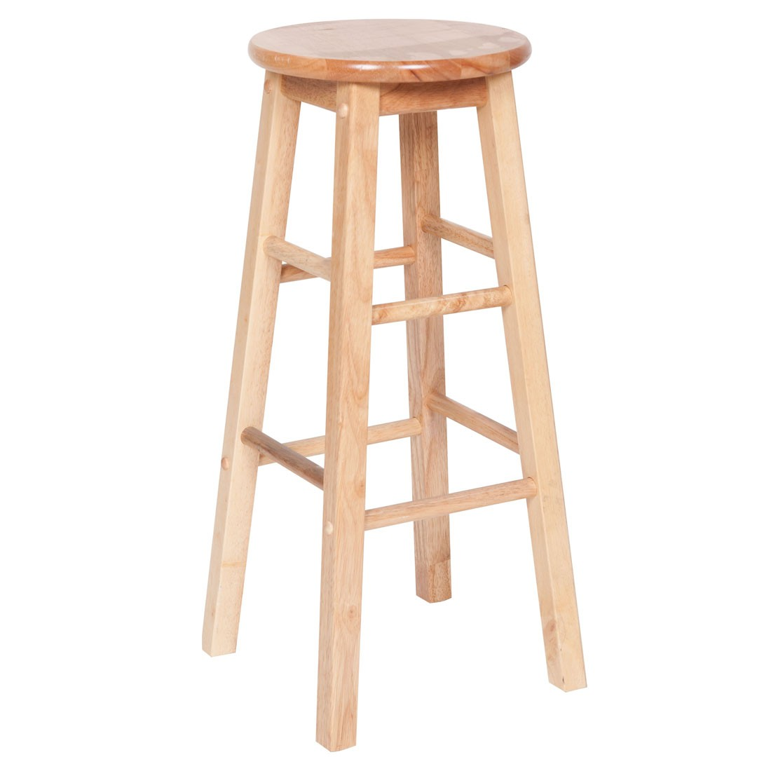 Oak Wood Barstool