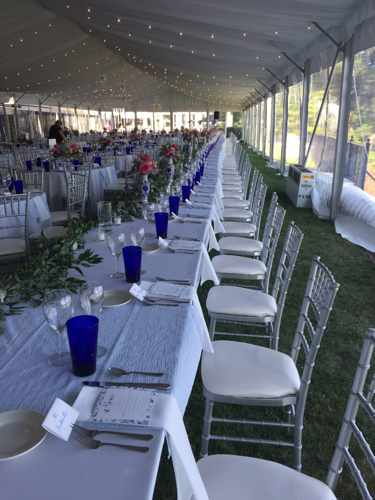Wedding Tent Tables Amp Chairs Rentals O Neil Tents