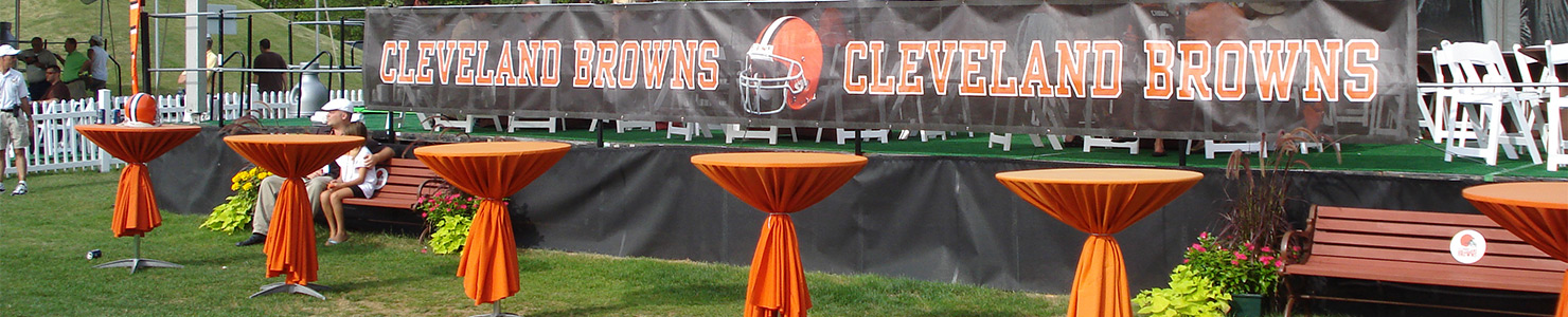 From stanchions to fans to easels, O'Neil Tents can make your event be a success