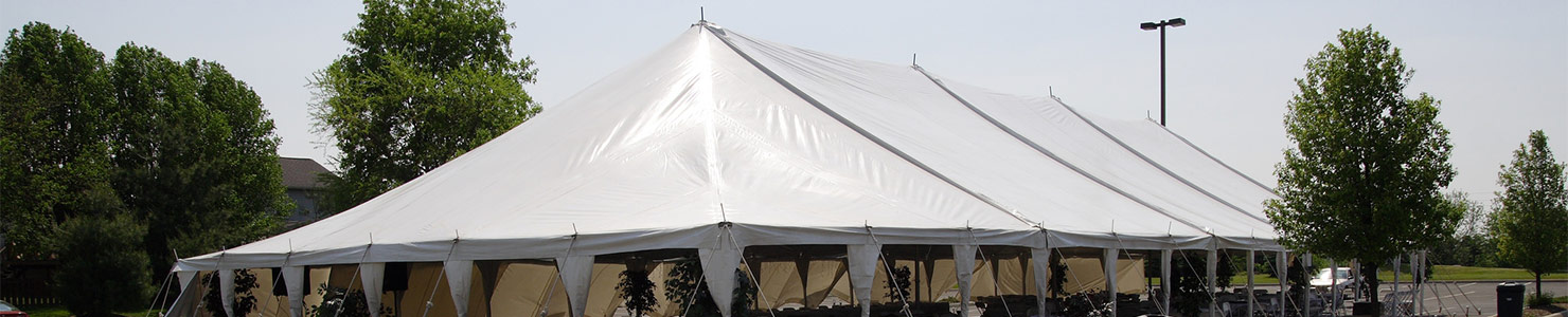 Pole tents from O'Neil Tents